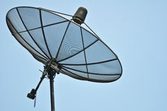 Satellite dish. Are use for the Telecommunications system and communication signal such as movies and sound stock photo