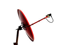 Satellite dish. Antennas on roof install Stock Photography