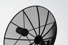 Satellite Dish. C-Band Satellite Dish royalty free stock image