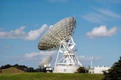 Satellite Dish. On blue sky Stock Image