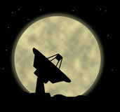 Satellite Dish. An illustration of a satellite dish Royalty Free Stock Images