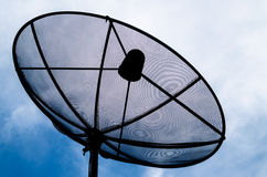 A satellite dish Royalty Free Stock Images