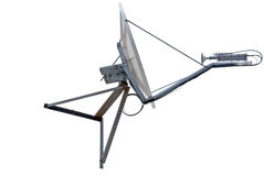 Satellite dish antenna Royalty Free Stock Images