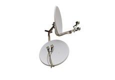 Satellite dish antenna Royalty Free Stock Photo