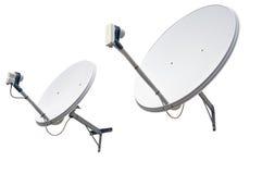 Satellite dish antenna royalty free stock photography