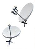 Satellite dish antenna Royalty Free Stock Image