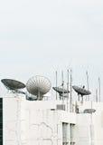 Satellite dish and antenna Stock Photography