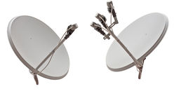 Satellite dish antenna Royalty Free Stock Photos