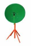 Satellite dish antenna isolated Stock Photography