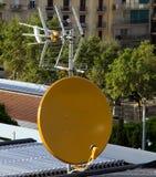 Satellite dish antenna Royalty Free Stock Photos