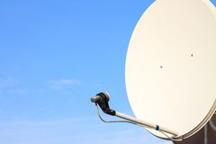 Satellite dish antenna Stock Photo