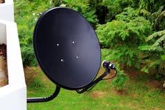 Satellite dish antennas Stock Photos