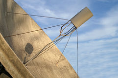 Satellite Dish With Blue Sky Royalty Free Stock Photos