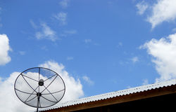 The satellite dish Royalty Free Stock Photography