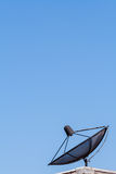 Satellite dish on blue sky ,communication technology network Stock Photography