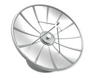 Satellite dish with clipping path Stock Photography