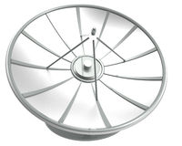 Satellite dish with clipping path Stock Photos