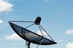 Satellite dish communication technology network Royalty Free Stock Image