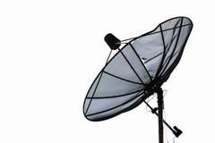 Satellite dish dilapidated Stock Image