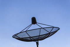 Satellite dish. With empty blue sky Royalty Free Stock Photo