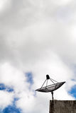 Satellite Dish house Royalty Free Stock Images