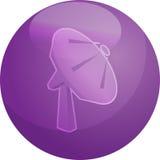 Satellite dish illustration Stock Photo