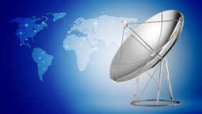 Satellite dish Stock Images