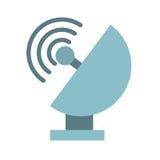 Satellite dish isolated icon design Stock Image
