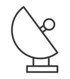 Satellite dish isolated icon design Stock Images