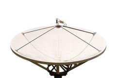 Satellite dish isolated. Royalty Free Stock Image