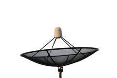 Satellite dish isolated on white background. Stock Image