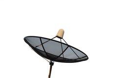 Satellite dish isolated on white background. Royalty Free Stock Photos