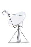 Satellite dish isolated Royalty Free Stock Images
