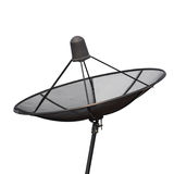 Satellite dish isolated on a white background Royalty Free Stock Photo