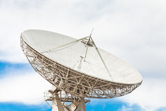 Satellite Dish. At a launch tracking station stock images