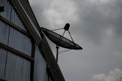 Satellite dish Royalty Free Stock Photography