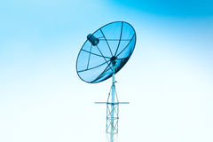 Satellite dish. Pic of a satellite dish Stock Illustration