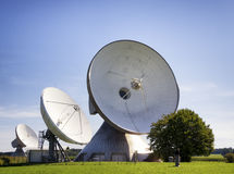 Satellite dish - radio telescope Stock Photography