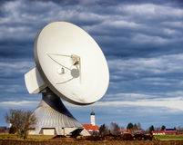 Satellite dish - radio telescope Royalty Free Stock Images