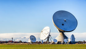 Satellite dish - radio telescope Stock Image