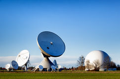 Satellite dish - radio telescope Royalty Free Stock Photos