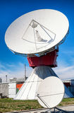 Satellite dish - radio telescope Royalty Free Stock Photography