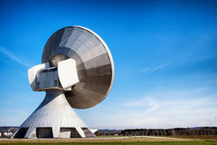 Satellite dish - radio telescope Stock Images
