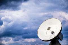 Satellite dish - radio telescope Stock Photo