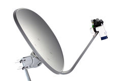 Satellite Dish Receiver Royalty Free Stock Images
