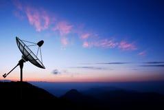 Satellite dish sky Stock Photography
