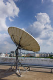 Satellite Dish for Telecommunications Stock Photos