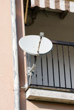 satellite dish and tv antenna Stock Photography