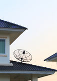 Satellite dish and TV antennas Royalty Free Stock Photography