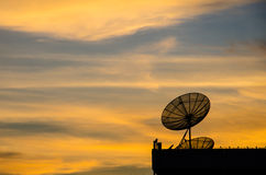 Satellite dish. Royalty Free Stock Photography